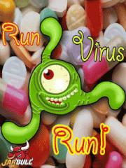 Скачать Беги вирус, беги! игра